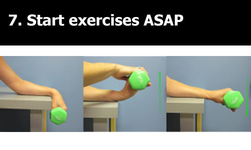 curing exercises for tennis elbow