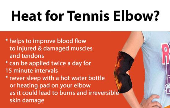 Tennis Elbow Treatment Heat