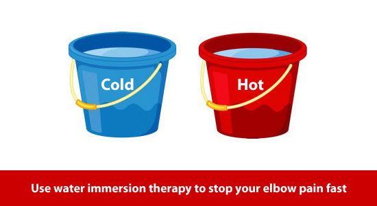 hot and cold water immersion