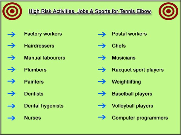 tennis elbow outer elbow pain