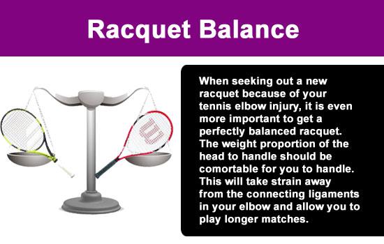 tennis racquet balance