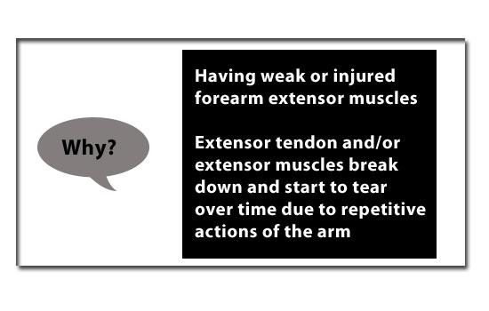 why do you get tennis elbow