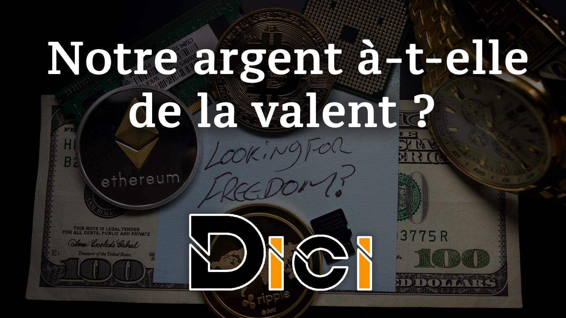 La valeur de l'argent: Que valent nos euros ?<span class=