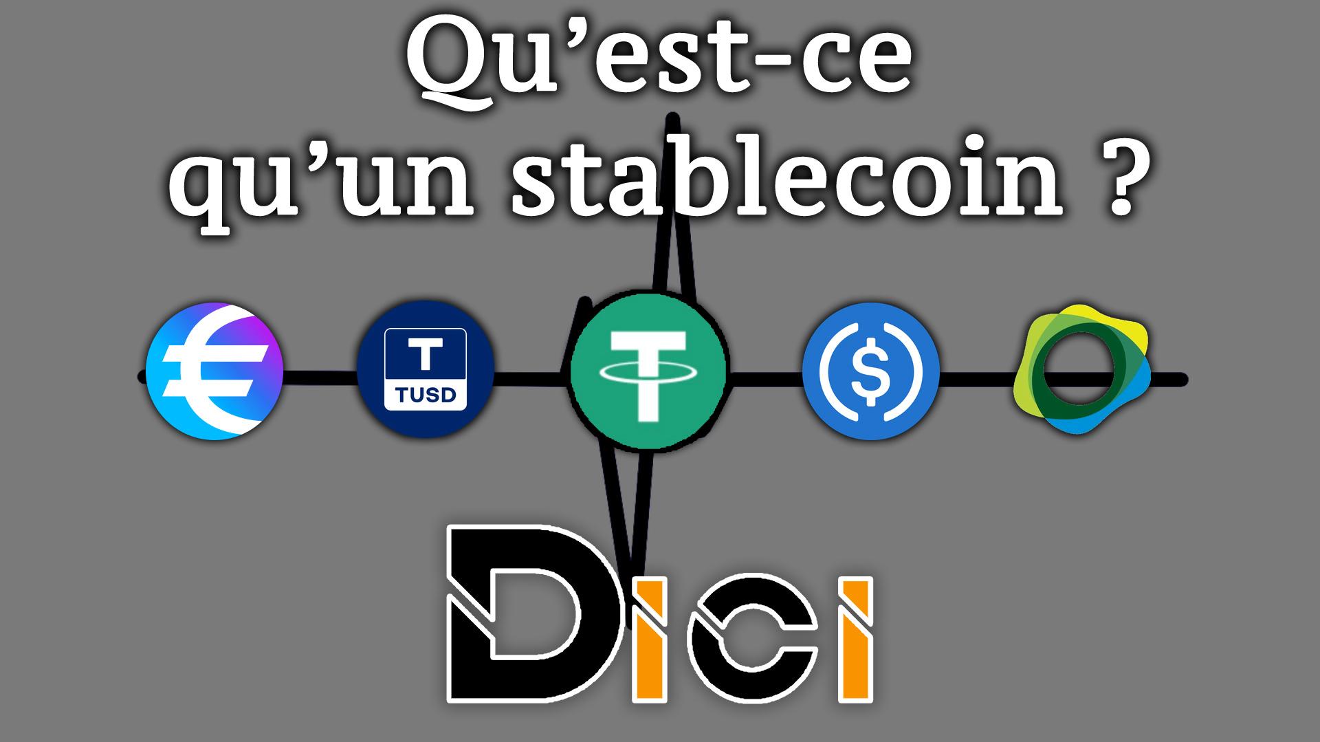 Comment fonctionne un Stablecoin ?<span class=