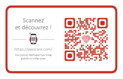 flash-code Passcare e-santé