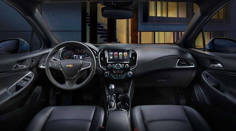2017 Chevy Cruze Sedan Premier Interior Gallery3 Chevrolet Of
