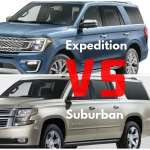 2017 Chevy Suburban Vs 2017 Ford Expedition