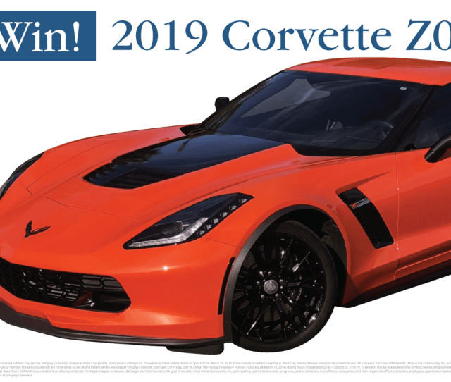 Unity In The Community Annual Stingray Chevrolet Charity Raffle