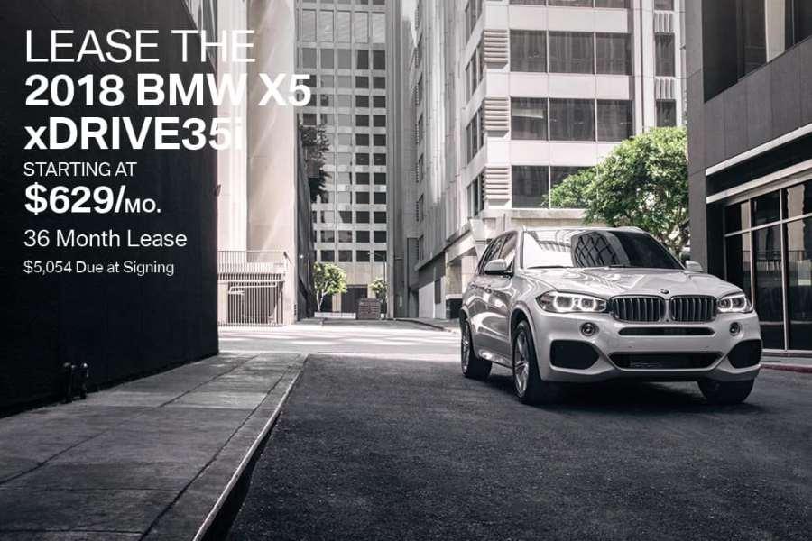 New 2018 BMW X5 Price & Lease Offer | BMW of Bayside