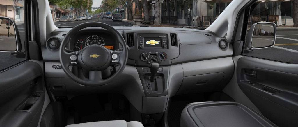 Chevy City Express Interior Dimensions