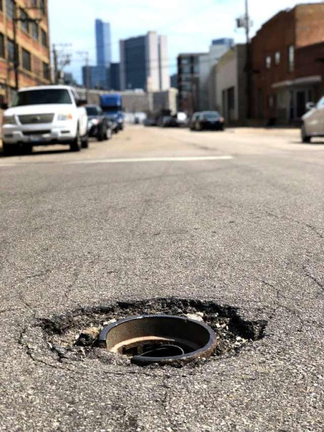 Identify The Signs Of Pothole Damage