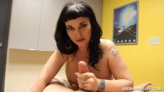 POV Brunette Milf Is Famous For Her Happy Ending Massages
