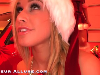 HOT BABES POV CHRISTMAS SUCK AND FUCK COMPILATION