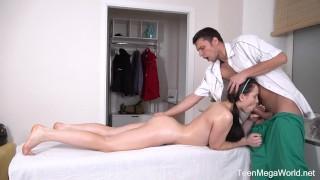 Tricky-Masseur.com - Easy Di - Doggy sex as massage bonus