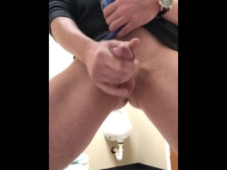 My Big White Cock at Work