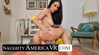 Naughty America - Katrina Jade gives you a private swimsuit show