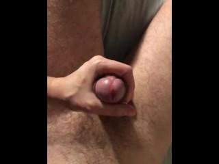 Handjob fat big dick