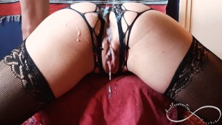 Sexy lingerie wearing girlfriend gets fucked - Amateur FuckForeverEver