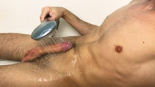 Hot Guy Really Intense Orgasm While Loud Moaning Dirty Talk - Cum HandsFree