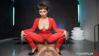 VRCosplayX STAR TREK A XXX Helps You Exploring T'pol's Pussy