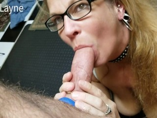 Boiling hot Old Mommy Deepthroats and Swallows My Complete Shaft!