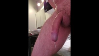 JUGDEMENT2: Milking my prostate good sitting on a dildo no hands!