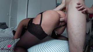 young escort in black lingerie!