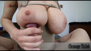 Cleavage TitJob (Titjob and Titty Creampie) - preview - by Amedee Vause