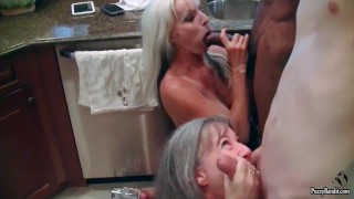 Hory Granny's love young Cock