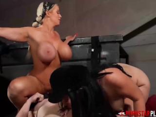 PORNSTARPLATINUM Megan Madie Using Onerous In BDSM Gangbang