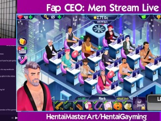 Jungle Orgy! Fap CEO Men stream #19 W/HentaiGayming