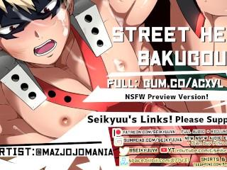 Stupid Hard Street Hero Bakugou! [My Hero Academia ASMR] (Art by: mazjojomania)