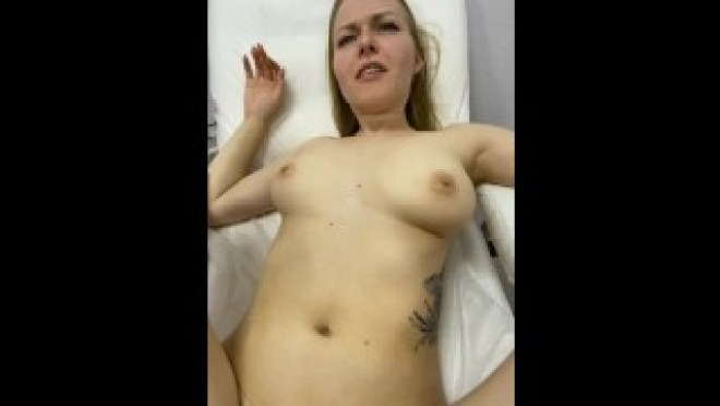 multiple cums in the chair after work