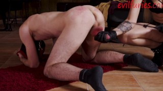 poorboy will get his balls crushed