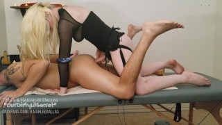 Haighlee's Pet Gets Massaged and Fucked Hard  - Loud Male Moaning Deep Thrusting - OurDirtyLilSecret