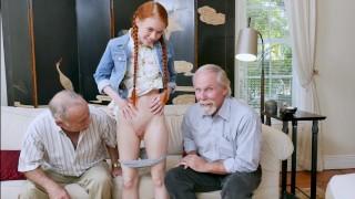 BLUE PILL MEN - Old Men Fucking Teen Girls Compilation Video!