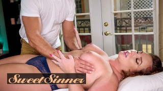 SweetSinner - Married Woman Maddy OReilly Has Her Pussy Pounded By Her Massage Therapist Ramon Noma