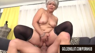Golden Slut - Mature Babes Who Love Being on Top Compilation