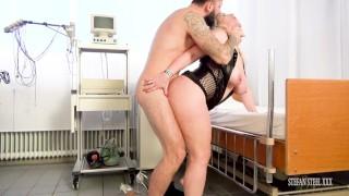 Nurse very horny Sandy Big Boobs