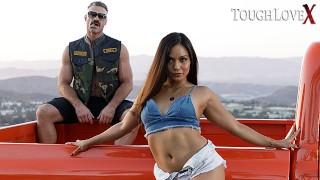 TOUGHLOVEX Suckin, fuckin and truckin with Lana Violet