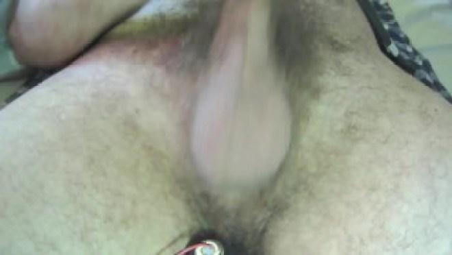 Anal speculum and prostate stimulator orgasm