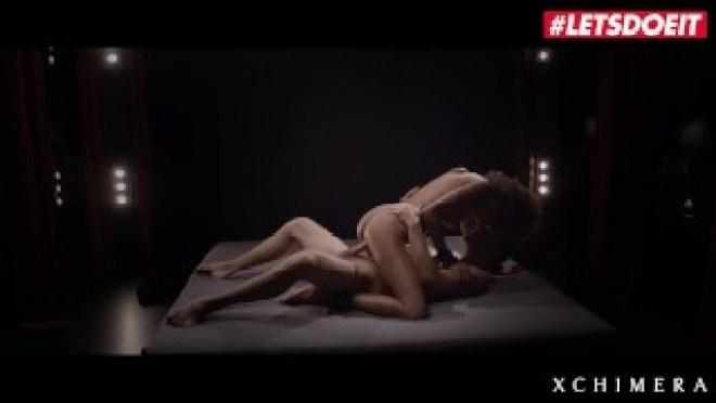 XCHIMERA – EBONY BEAUTY LUNA CORAZON TAKES BIG COCK IN KINKY SEX – LETSDOEIT