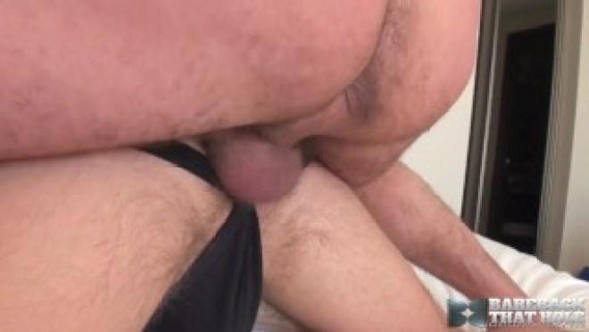 Hairy Hunk Clay Towers Barebacks Submissive Bottom Alex Hawk