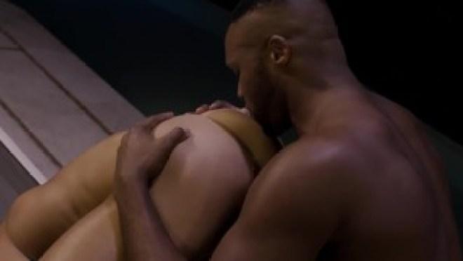 Valentin Amour Rides Andre Donovan's Big Black Cock