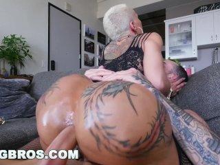 BANGBROS – Big Booty Pornstar Bella Bellz Does Anal For Her Comeback