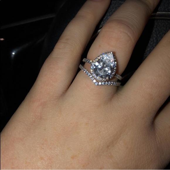 Pandora Jewelry Radiant Teardrop Ring Poshmark