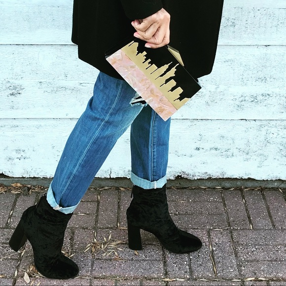 Image result for french heel booties street style