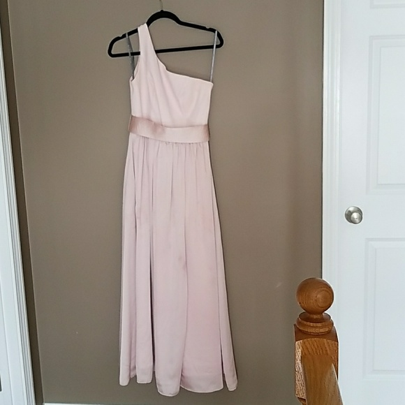 Vera Wang Dresses   Vw360215 One Shoulder Bridesmaid Dress   Poshmark VW360215 Vera Wang One Shoulder Bridesmaid dress
