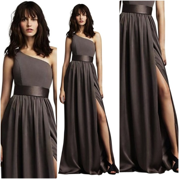 Vera Wang Dresses   White By Charcoal Vw360215 Formal Dress   Poshmark M 5aaaaacfa6e3ea7930bff4ef