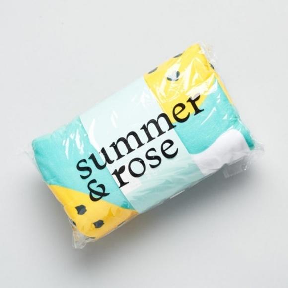 Summer Rose Beach Towel Hype Vacation